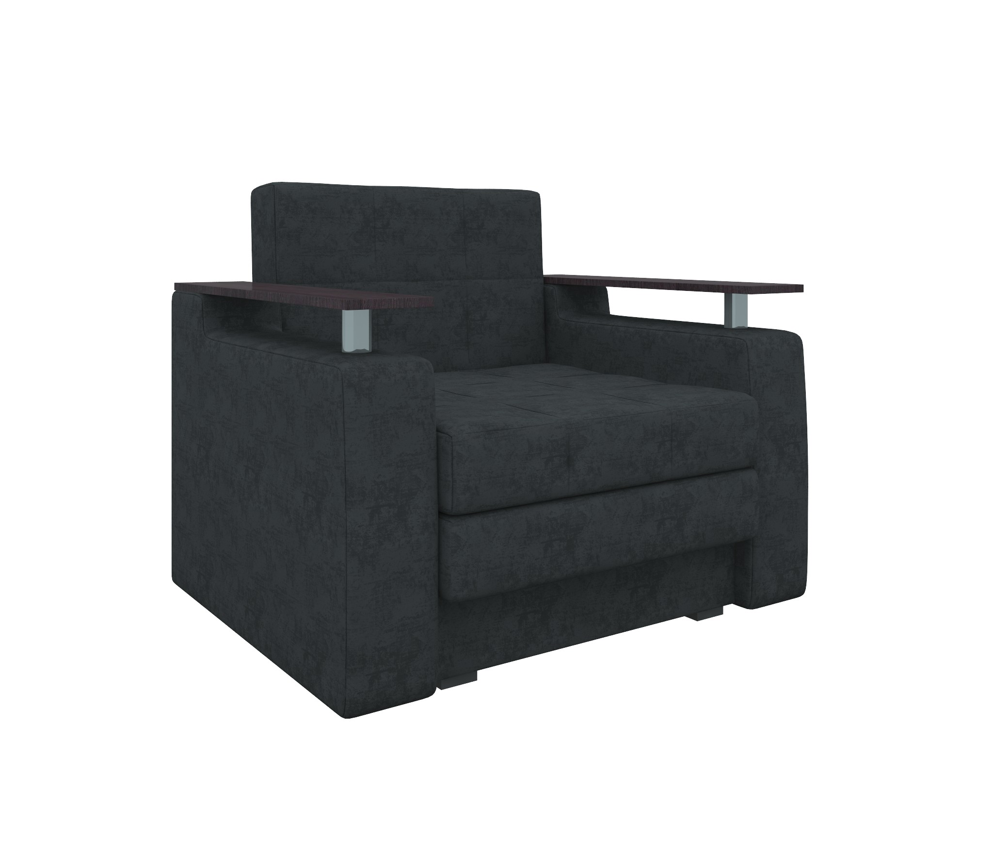 Кресло-кровать Комфорт вельветМягкая мебель<br><br><br>Длина мм: 1060<br>Высота мм: 800<br>Глубина мм: 850