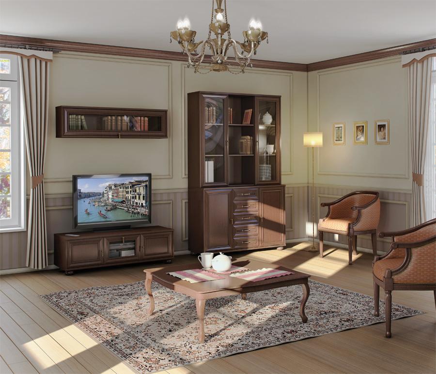 Гостиная Верди 2668Стенки для гостиной<br><br><br>Длина мм: 0<br>Высота мм: 0<br>Глубина мм: 0