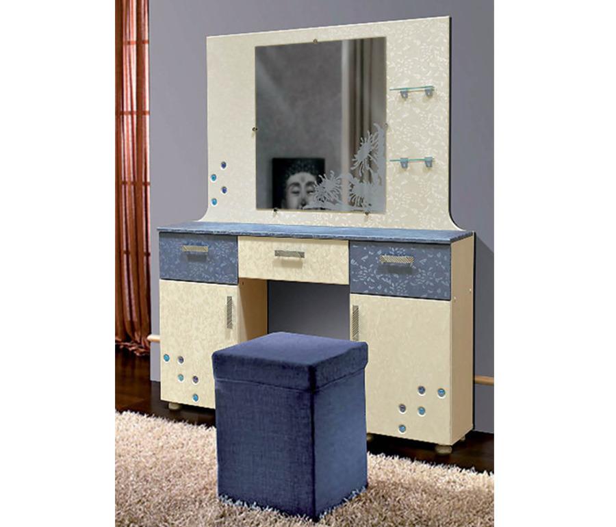 Стол туалетный  ХризантемаТуалетные столики<br><br><br>Длина мм: 1300<br>Высота мм: 1580<br>Глубина мм: 425