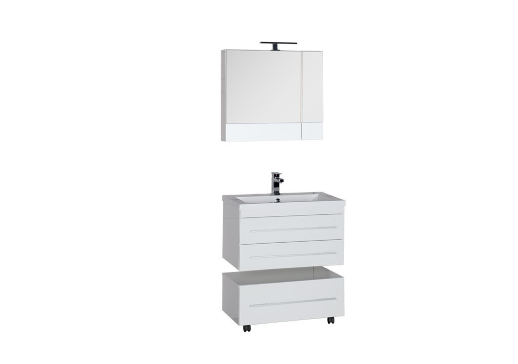 Комплект мебели Aquanet Нота 75 камериноКомплекты мебели для ванной<br><br><br>Длина мм: 0<br>Высота мм: 0<br>Глубина мм: 0<br>Цвет: Белый