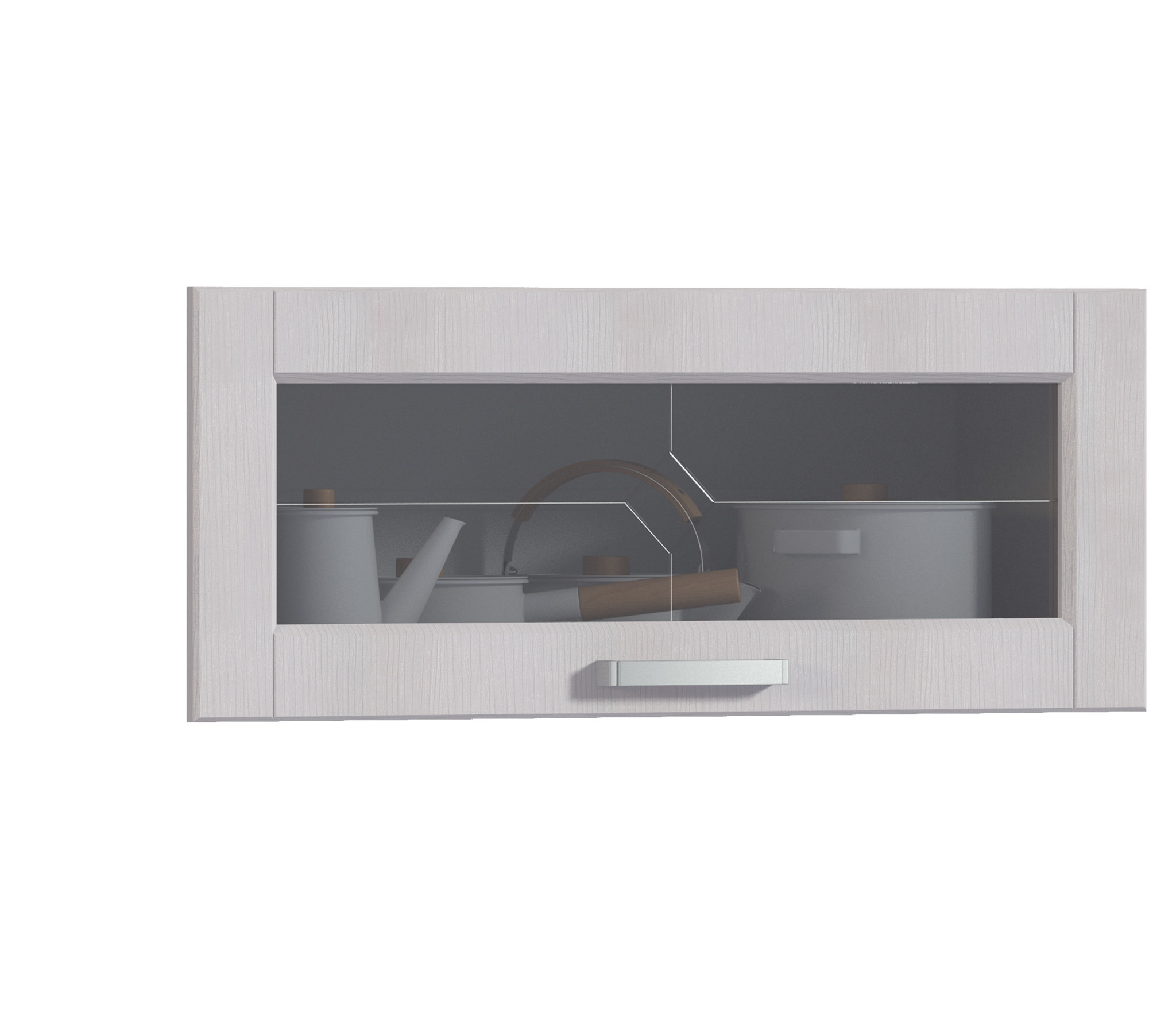 Регина ФВ-290 витринаМебель для кухни<br><br><br>Длина мм: 896<br>Высота мм: 355<br>Глубина мм: 20