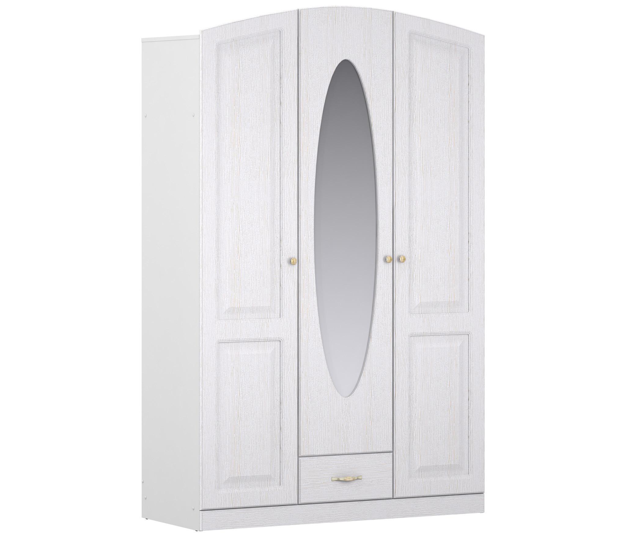 Кристина СБ-1862 Шкаф для одежды 3-х дверныйШкафы<br>Этот предмет мебели полностью отвечает всем необходимым функциональным требованиям.<br><br>Длина мм: 1350<br>Высота мм: 2144<br>Глубина мм: 559