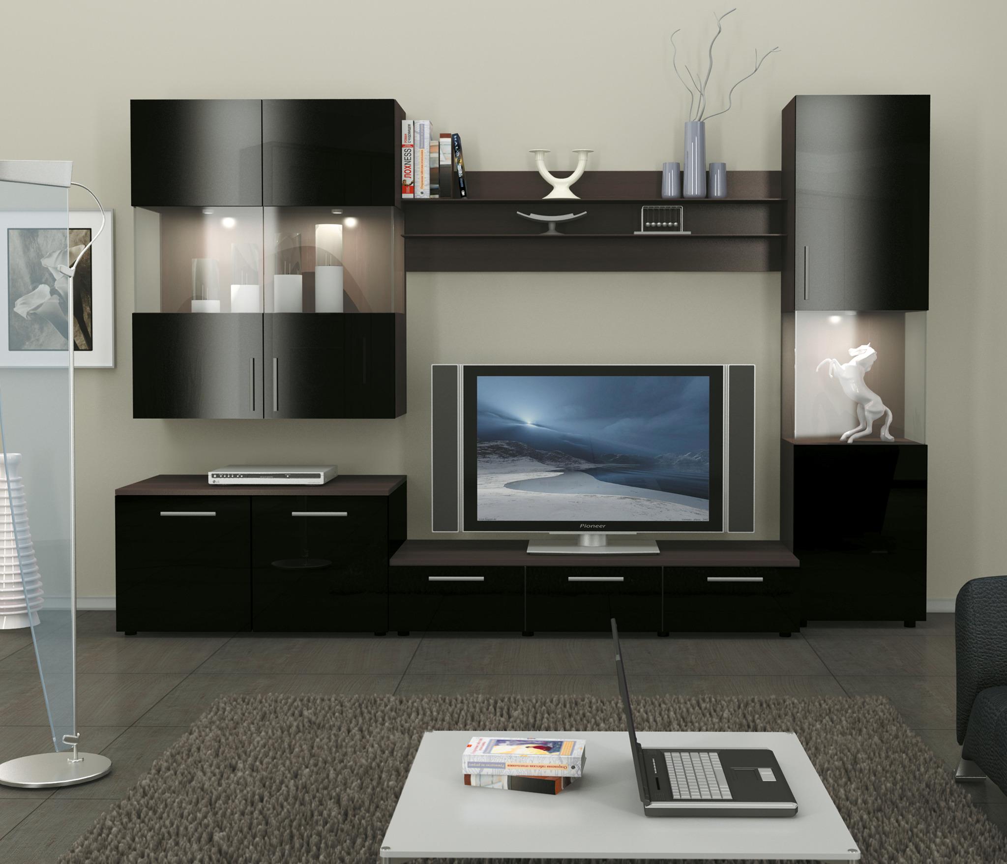 Фигаро стенкаСтенки для гостиной<br>Новая стенка для ценителей мебели в современном стиле. Фасады выполняются из МДФ в цвете чёрный глянец, корпуса из высококачественной плиты ДСП в цвете дуб феррара.&#13;Данная модель представлена в модульных гостиных, там вы можете набрать необходимое количество элементов. Материал корпуса -ЛДСП,&#13;Цвет корпуса - Дуб феррара,&#13;Материал фасада - МДФ, Цвет фасада- Черный Глянец, &#13;Витрина - Прозрачное стекло;        &#13;Длина 3000 мм / Высота 2000 мм / Глубина 620 мм /  ТВ с диагональю до 48 (дюймов)         &#13;Современный Стиль.&#13;]]&gt;<br><br>Длина мм: 3000<br>Высота мм: 2000<br>Глубина мм: 620