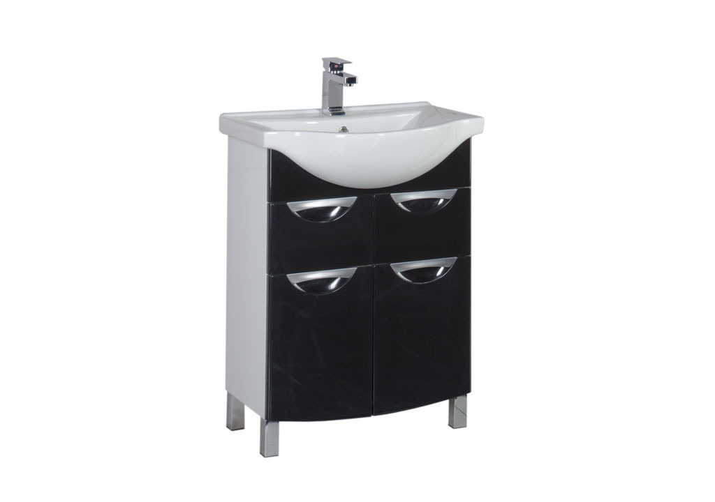 Тумба Aquanet  Асти 65 черныйТумбы с раковиной для ванны<br><br><br>Длина мм: 0<br>Высота мм: 0<br>Глубина мм: 0<br>Цвет: Чёрный глянец