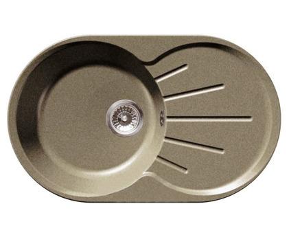 GRANFEST Мойка GF-R750L (бежевый)Мойки, сушки, смесители<br>Тип:врезная, одночашевая с крылом, оборачиваемая&#13;Материал мойки: искусственный камень&#13;Внешние размеры мойки: 750 мм x 460 мм&#13;Размеры чаши мойки: 400 мм x 400 мм&#13;Глубина чаши мойки: 200 мм&#13;Размер стандартного стола: от 45 см&#13;Отверстие под смеситель: отсутствует&#13;Страна торговой марки / страна-производитель: Россия / Россия&#13;Гарантийный срок: 2 года&#13;В комплекте:&#13;фреза Форстнера 35 мм&#13;сливная гарнитура с нержавеющим клапаном-фильтром 3,5 дюйма&#13;сифон с отводом (под стиральную или посудомоечную машину)&#13;герметик<br><br>Длина мм: 400<br>Высота мм: 400<br>Глубина мм: 200