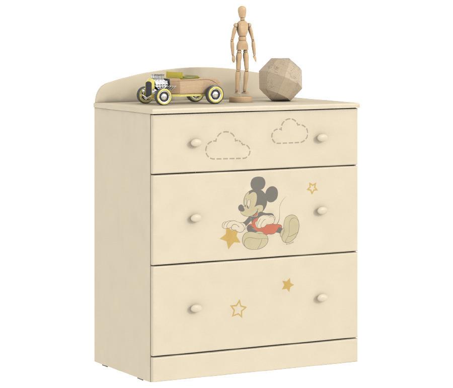 Денди Disney СБ-1413 КомодДетские комоды<br>Любимые герои Disney теперь на мебели  Столплит !&#13;Пастельные тона мебели и любимый с детства Микки Маус - отлично впишутся в интерьер комнаты как мальчиков, так и девочек.&#13;Солнечный и стильный комод для детской«Денди СБ-1413N»понравится не только вам, но и вашим детям. Этот комод удачно впишется в любой интерьер и станет дополнительным местом для хранения игрушек, письменных принадлежностей и детской одежды.&#13;]]&gt;<br><br>Длина мм: 786<br>Высота мм: 1036<br>Глубина мм: 451