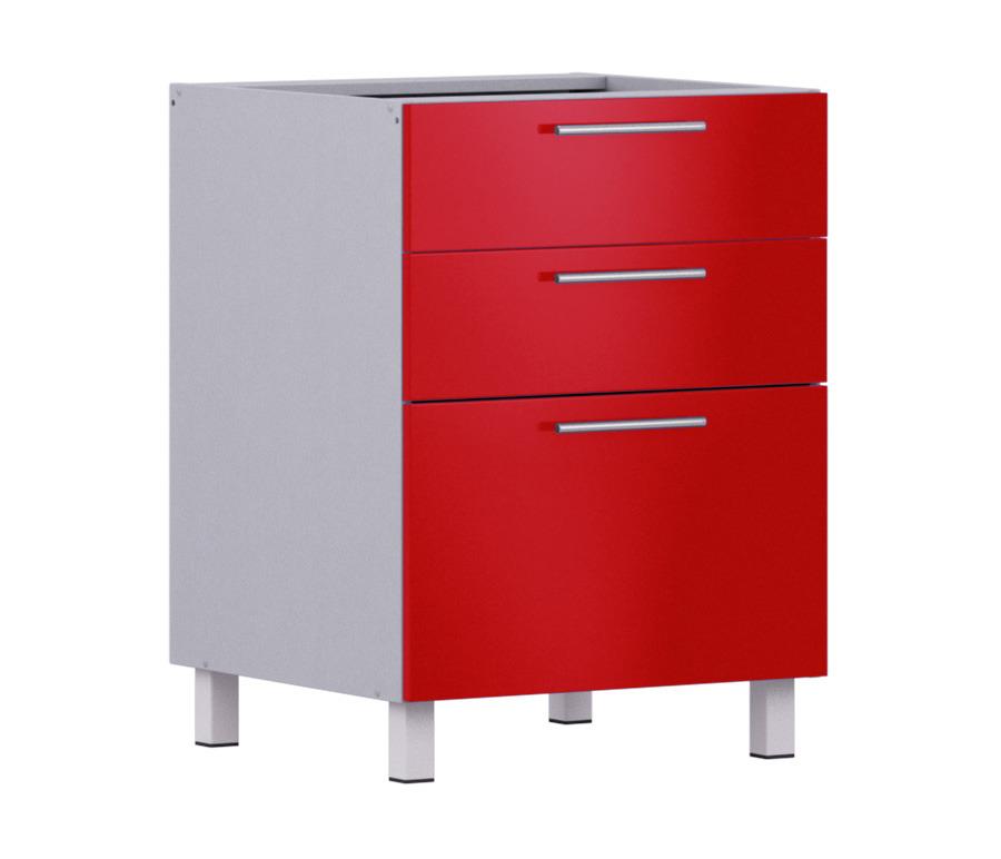 Анна стол АСЯ-360 с ящиками накладкиМебель для кухни<br><br><br>Длина мм: 600<br>Высота мм: 820<br>Глубина мм: 563