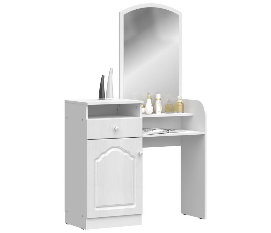 Амалия СБ-995 Стол туалетныйТуалетные столики<br>Стильный и удобный туалетный столик.<br><br>Длина мм: 1000<br>Высота мм: 1607<br>Глубина мм: 375<br>Особенности: С зеркалом