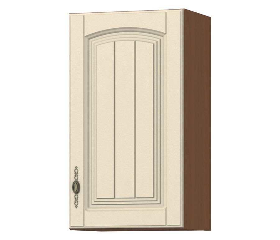 Регина РП-40 полка с фасадомГарнитуры<br>Полки, закрытые дверцами, - самая удобная кухонная мебель<br><br>Длина мм: 400<br>Высота мм: 720<br>Глубина мм: 289
