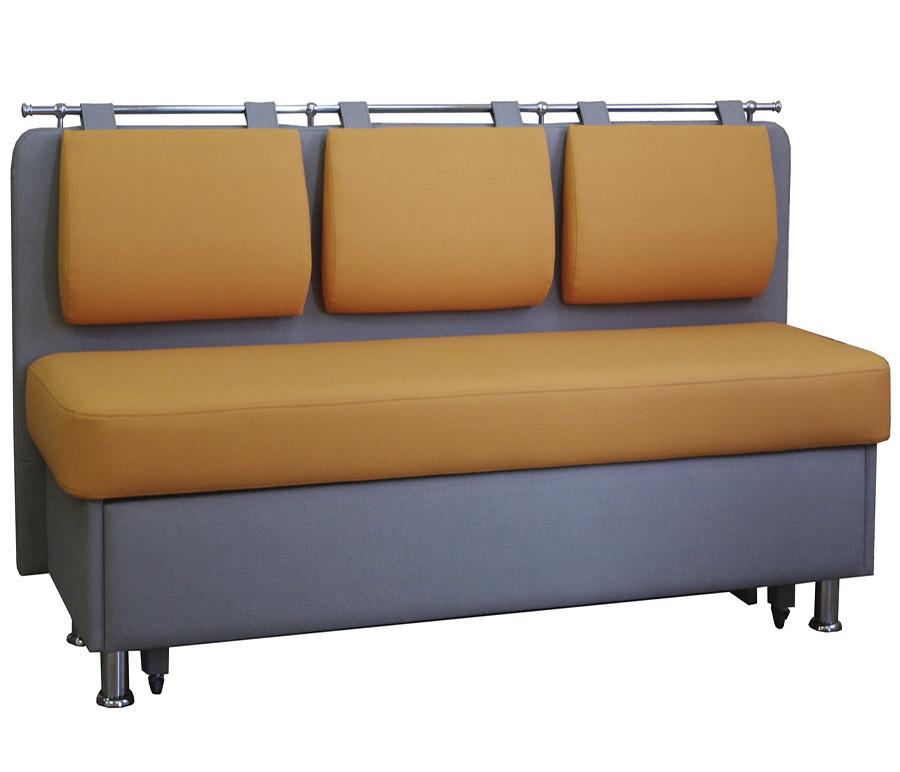 Диван Метро прямой. Встроенное спальное место.  Обивка экокожаМягкая мебель<br><br><br>Длина мм: 180<br>Высота мм: 85<br>Глубина мм: 55