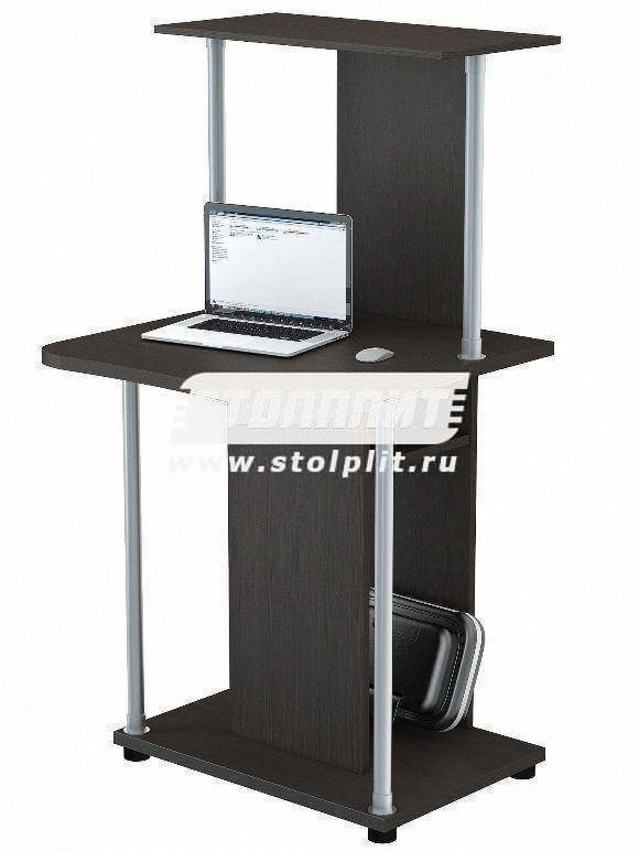 Стол компьютерный КС 2032м1Компьютерные столы<br><br><br>Длина мм: 600<br>Высота мм: 1260<br>Глубина мм: 600<br>Цвет: Венге