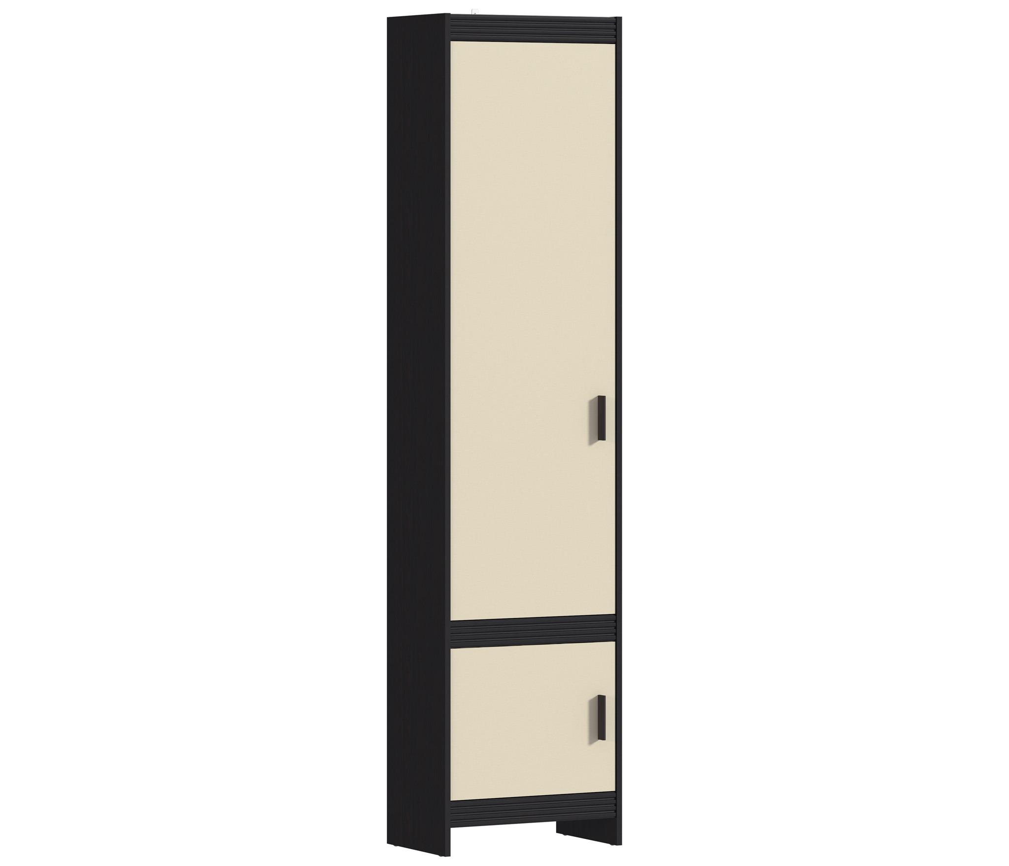 Дакота СБ-1896 ПеналШкафы<br>Шкаф для одежды с глухими фасадами не будет загромождать пространство благодаря своим сравнительно небольшим размерам.<br><br>Длина мм: 532<br>Высота мм: 2204<br>Глубина мм: 333