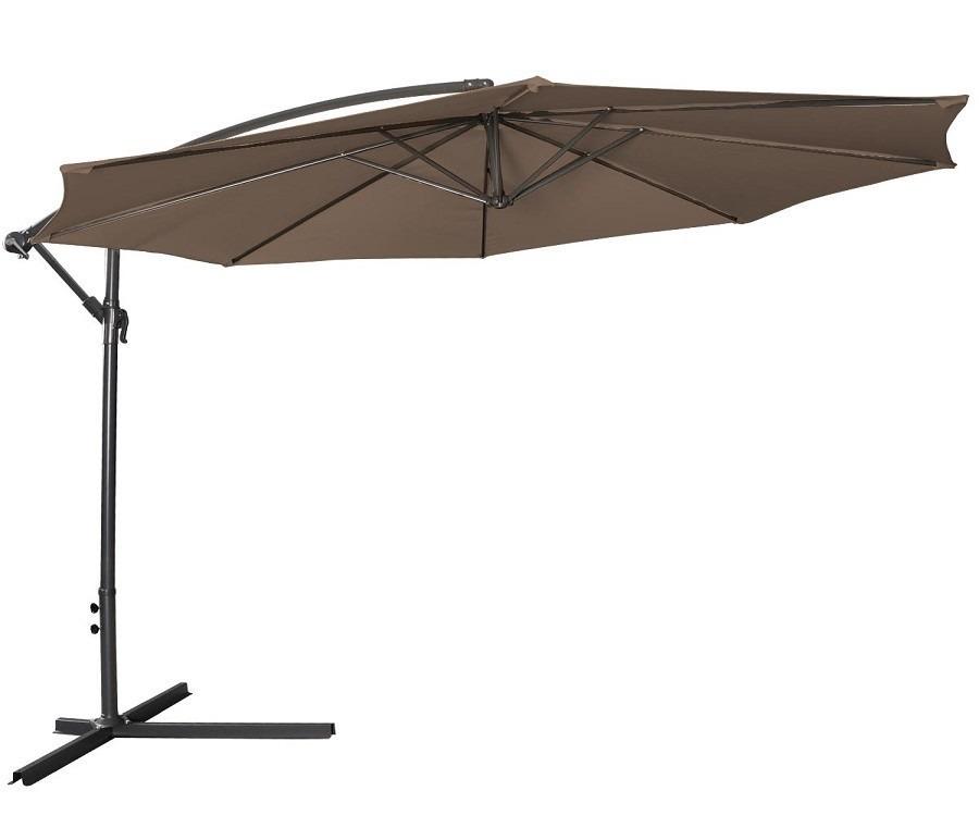 Зонт садовый OP2331Дачная мебель<br><br><br>Длина мм: 3000<br>Высота мм: 0<br>Глубина мм: 3000<br>Цвет: Темно-коричневый