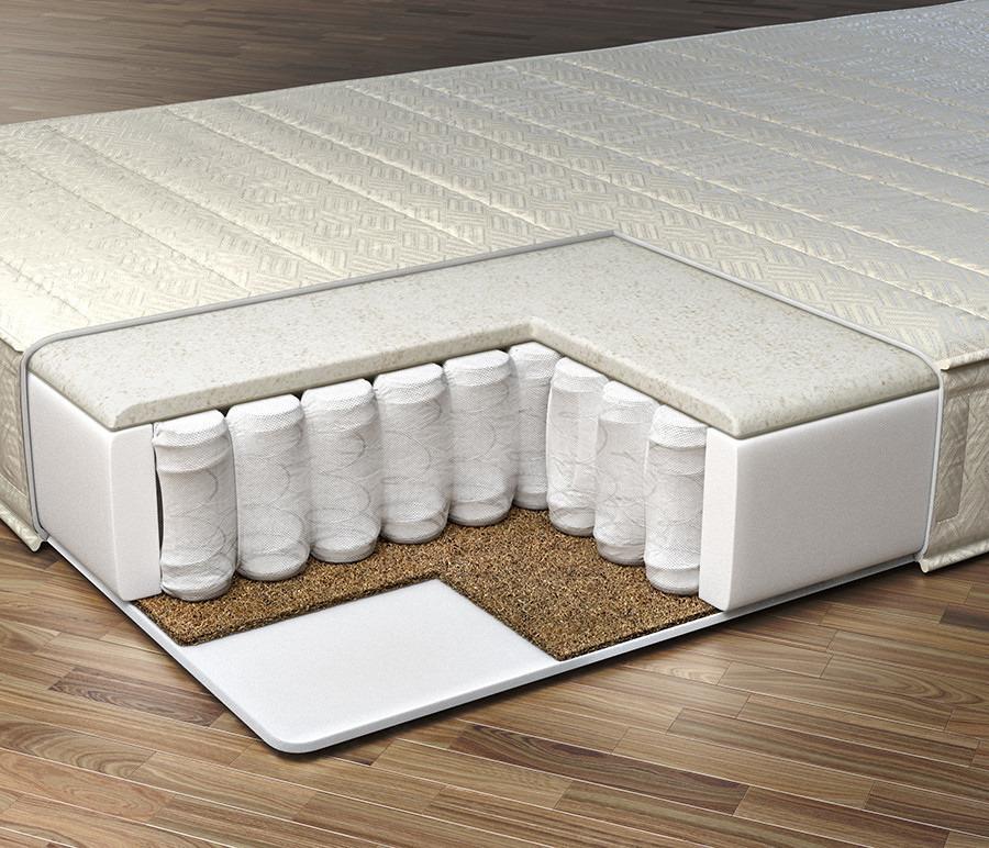 Матрас Галактика сна - Арета 1000*1900Мебель для спальни<br>Комплекс независимых пружин, лежащий в основе модели, имеет повышенную надежность. Он эффективно поддерживает тело, адаптируясь к его особенностям и Вашей любимой позе во время сна.  В качестве наполнителя комфортного слоя используется материал струттофайбер с добавлением льна - комбинированный гигиеничный материал, обеспечивающий среднюю жесткость, а также вентилируемость матраса. Материал обладает антисептическими и противовоспалительными свойствами, восстанавливает форму даже после длительных нагрузок, а также поддерживает постоянную температуру спального места. Слой натуральных волокон кокоса отличается особой прочностью и упругостью, что улучшает уровень поддержки матраса. Вы великолепно выспитесь за ночь, а утром встанете полными сил и энергии! Рекомендовано использование вместе с защитным чехлом Aquastop.&#13;Периметр: усилен ППУ&#13;Высота: 17&#13;Основа: Блок независимых пружин формы песочных часов 256 шт/м2&#13;Чехол: Чехол - высокопрочный хлопковый жакард итальянской компании Stellini, стеганный на синтепоне  &#13;Наполнитель: Струттофайбер лен, спанбонд, латексированная кокосовая плита&#13;Нагрузка: 100<br><br>Длина мм: 1000<br>Высота мм: 170<br>Глубина мм: 1900<br>Длина матраса: 1900<br>Ширина матраса: 1000