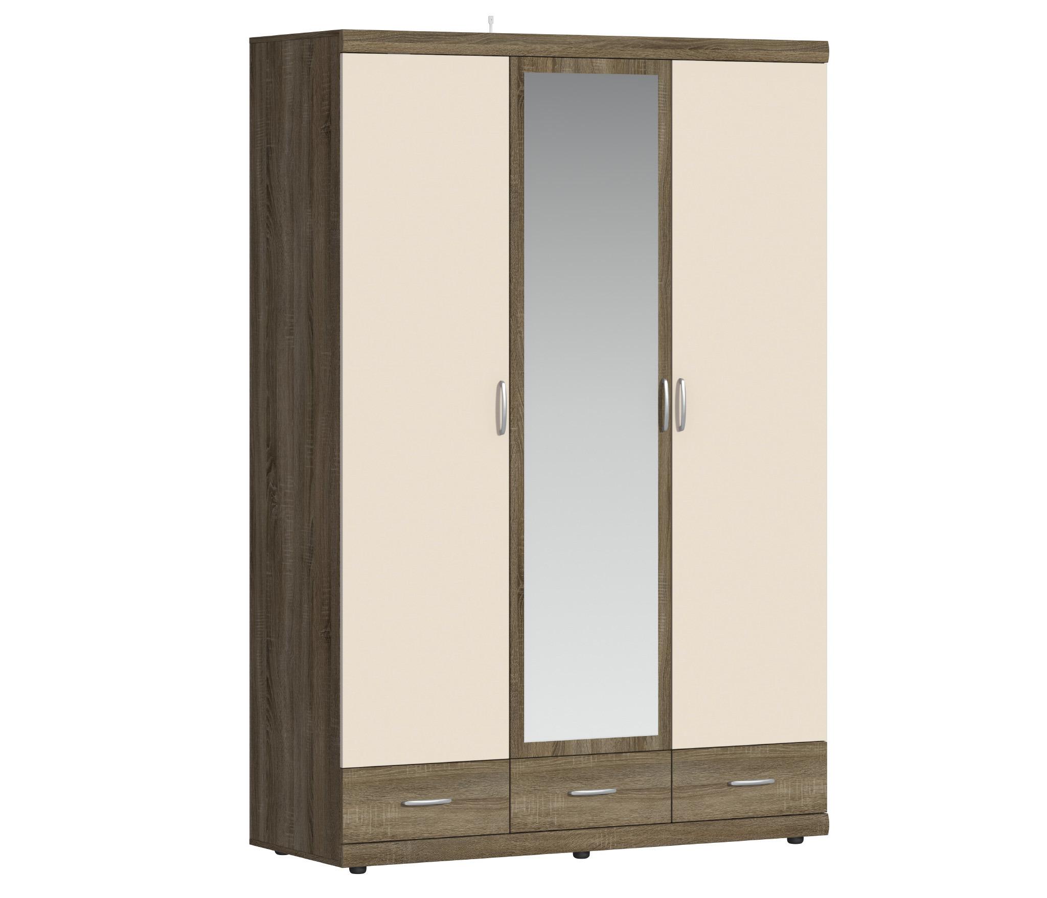 Монако СБ-2144 Шкаф 3-х дверный