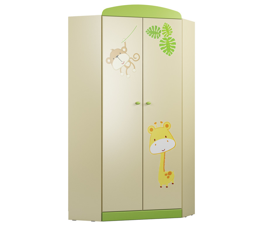 Денди СБ-1424N Шкаф угловойУгловые шкафы<br>Вместительный угловой шкаф станет замечательным выбором для детской комнаты.<br><br>Длина мм: 897<br>Высота мм: 1988<br>Глубина мм: 897