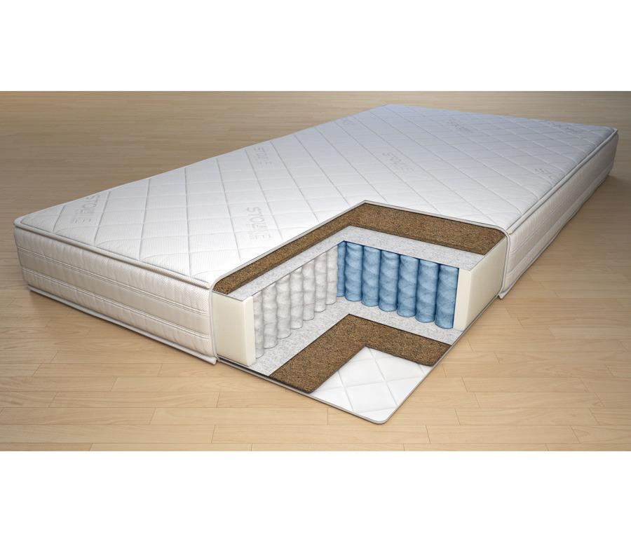Матрас Спокойной Ночи - Мирта  900*2000Мебель для спальни<br><br><br>Длина мм: 900<br>Высота мм: 160<br>Глубина мм: 2000
