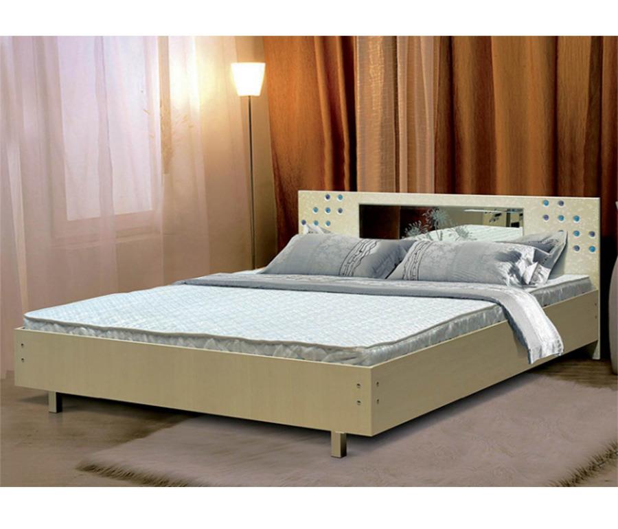 Кровать ХризантемаКровати<br><br><br>Длина мм: 1440<br>Высота мм: 810<br>Глубина мм: 2010