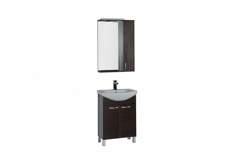 Комплект мебели Aquanet Донна 60  (2 дверцы)Комплекты мебели для ванной<br><br><br>Длина мм: 0<br>Высота мм: 0<br>Глубина мм: 0<br>Цвет: Венге