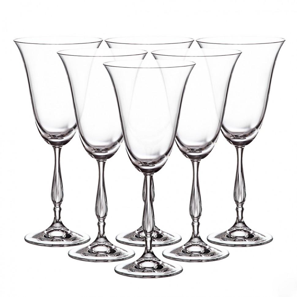 Фото - Набор бокалов для вина 350 мл 6 шт Crystalite Bohemia Antik набор бокалов первый мебельный набор бокалов для вина crystalite bohemia ardea amundsen 450мл 6 шт