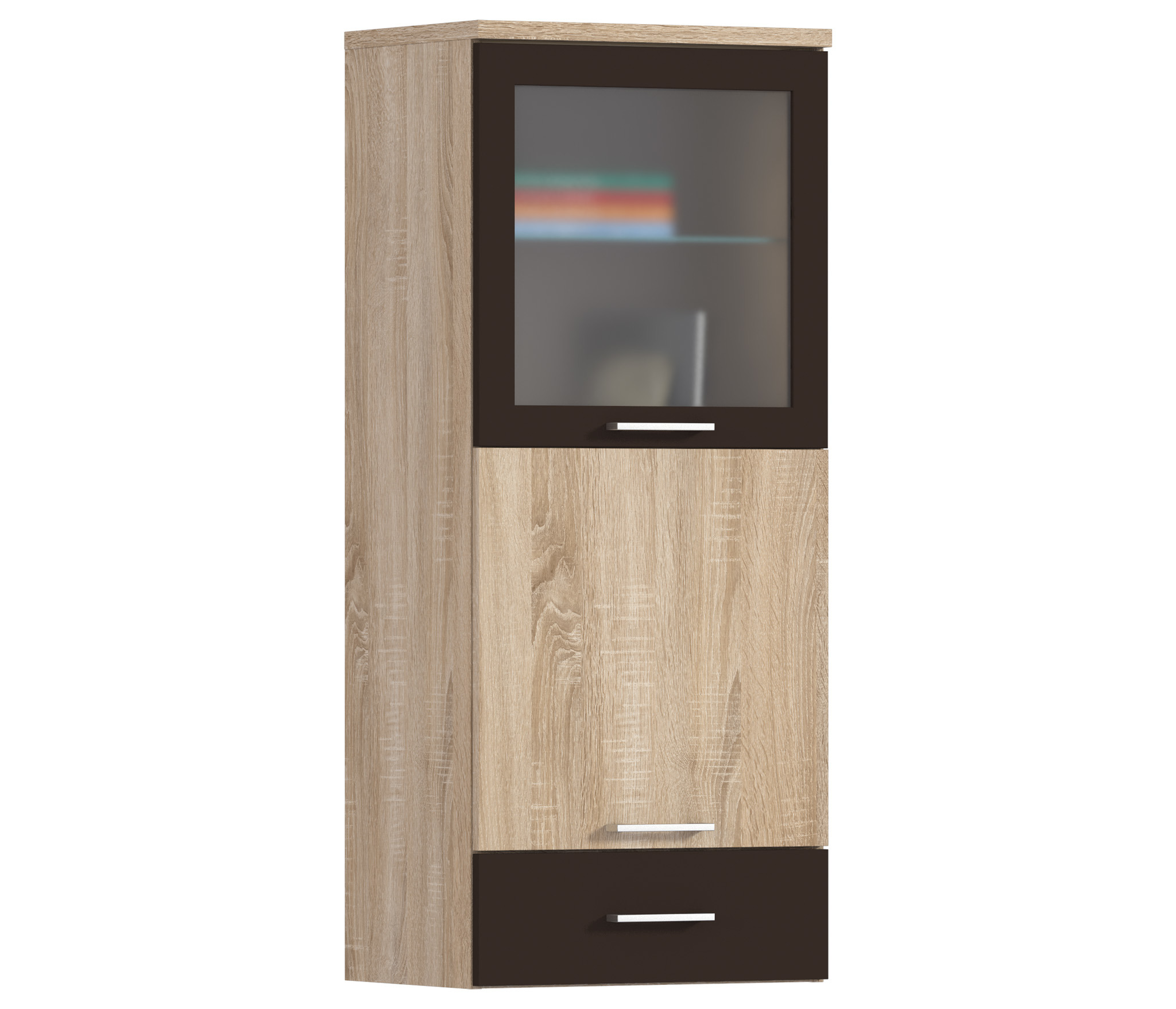 Клео СБ-2030 ПолкаПолки для гостиной<br>Функциональный мебельный модуль.<br><br>Длина мм: 490<br>Высота мм: 1167<br>Глубина мм: 353