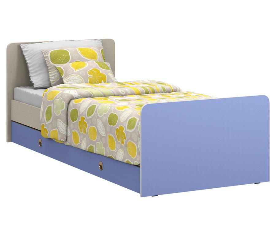 Фред СБ-1021 Кровать с ящикомГарнитуры<br><br><br>Длина мм: 0<br>Высота мм: 0<br>Глубина мм: 0