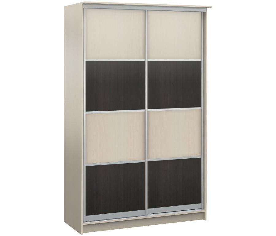 Шкаф 2-х дверный СБ-1086БП Дуб МолочныйШкафы<br><br><br>Длина мм: 1495<br>Высота мм: 2420<br>Глубина мм: 544