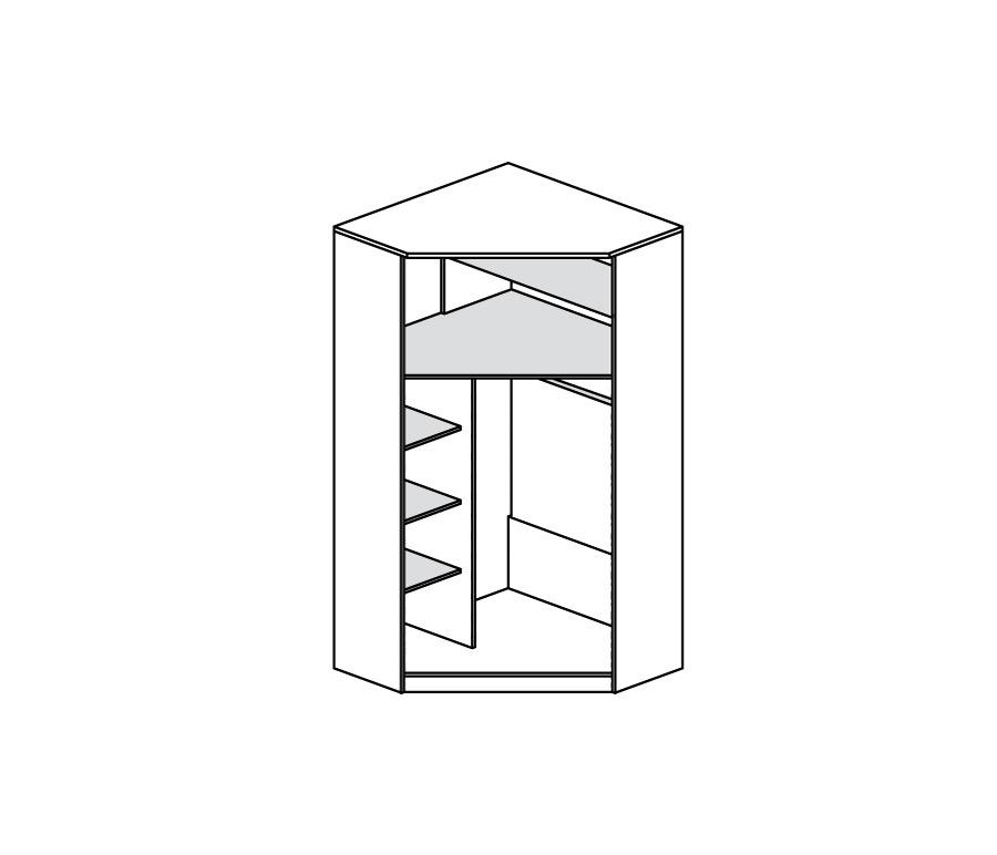 Симба с-09 шкаф угловой столплит 0040090000002 купить в инте.