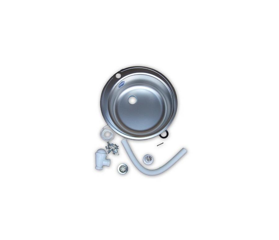 Мойка круглаяМойки, сушки, смесители<br> Круглая мойка отличается лаконичным содержанием, универсальным объёмом, обладает практичностью, а также гармонично впишется в любой интерьер.&#13;]]&gt;<br><br>Длина мм: 510<br>Высота мм: 160<br>Глубина мм: 510