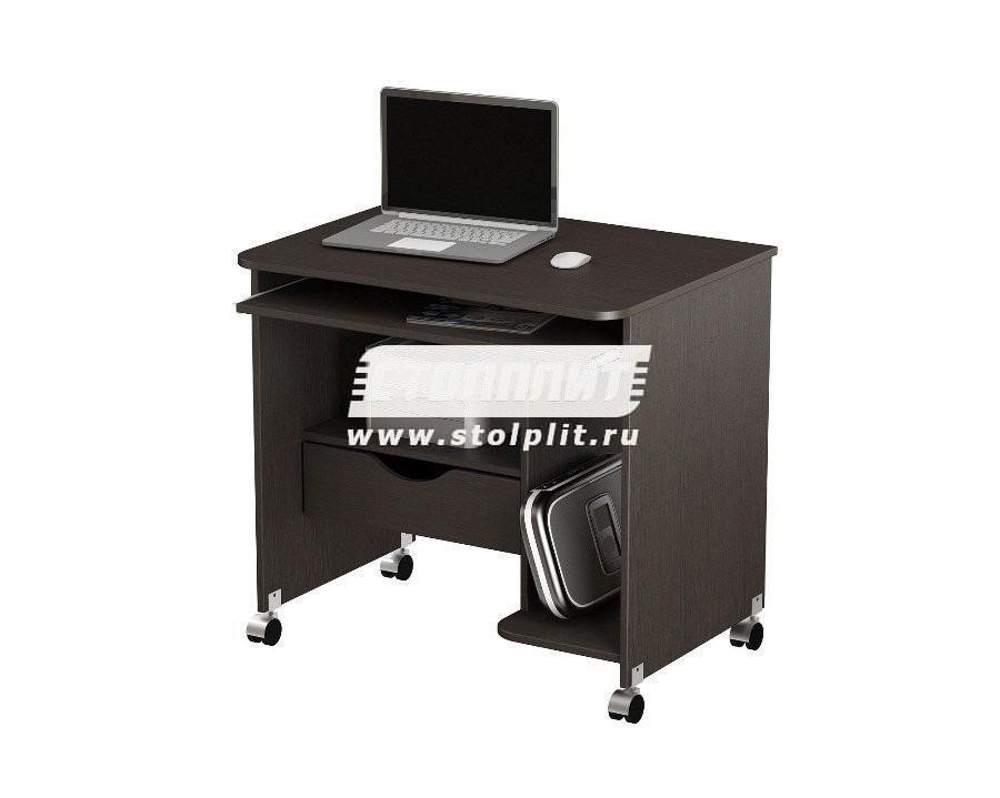 Стол компьютерный КС 2006м1Кабинет<br><br><br>Длина мм: 800<br>Высота мм: 760<br>Глубина мм: 600