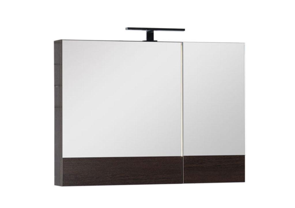 Зеркало Aquanet Нота 90Зеркало- шкаф для ванной<br><br><br>Длина мм: 0<br>Высота мм: 0<br>Глубина мм: 0<br>Цвет: Венге