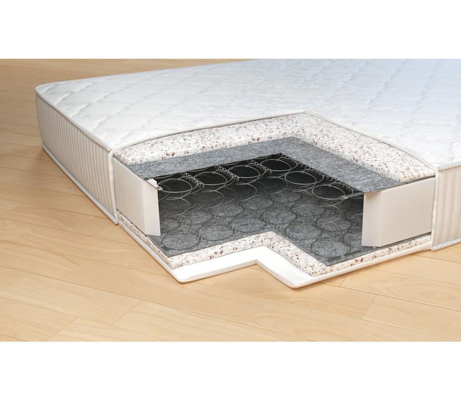 Матрас Комфорт-Неаполь 1600*2000Мебель для спальни<br>Упругий матрас из гипоаллергенного искусственного материала - холкон. Не впитывает влагу и запахи, благодаря чему всегда остается чистым и свежим, сохраняя оптимальный микроклимат спального места. В основе матраса   блок зависимых пружин Bonnel. Термовойлок защищает комфортный слой от истирания, тем самым продлевает срок службы матраса. Рекомендовано использование вместе с защитным чехлом Aquastop.&#13;Периметр: усилен ППУ&#13;Высота: 19&#13;Основа: Блок Боннель 117 пружин/ м2&#13;Чехол: Чехол - высокопрочный жакард итальянской компании Stellini, который состоит на 60% из хлопка; стеганный на синтепоне со спанбондом &#13;Наполнитель: Холкон, термовойлок&#13;Нагрузка: 100<br><br>Длина мм: 1600<br>Высота мм: 200<br>Глубина мм: 2000<br>Длина матраса: 2000<br>Ширина матраса: 1600<br>Высота матраса: 200<br>Жесткость матраса: Средняя<br>Тип матраса: пружинный блок бонель