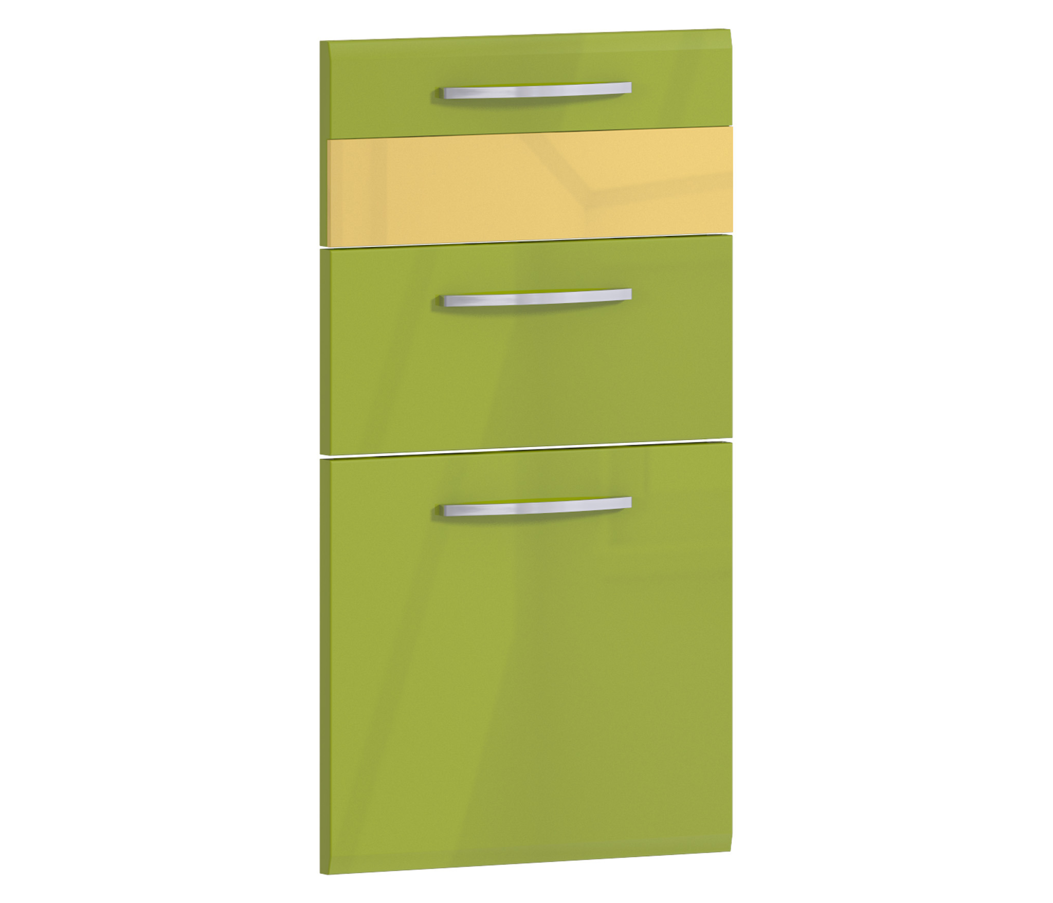 Фасад Регина Н-40 к корпусу РСЯ-40Мебель для кухни<br>Комплект  из трех панелей для ящиков кухонного шкафа.
