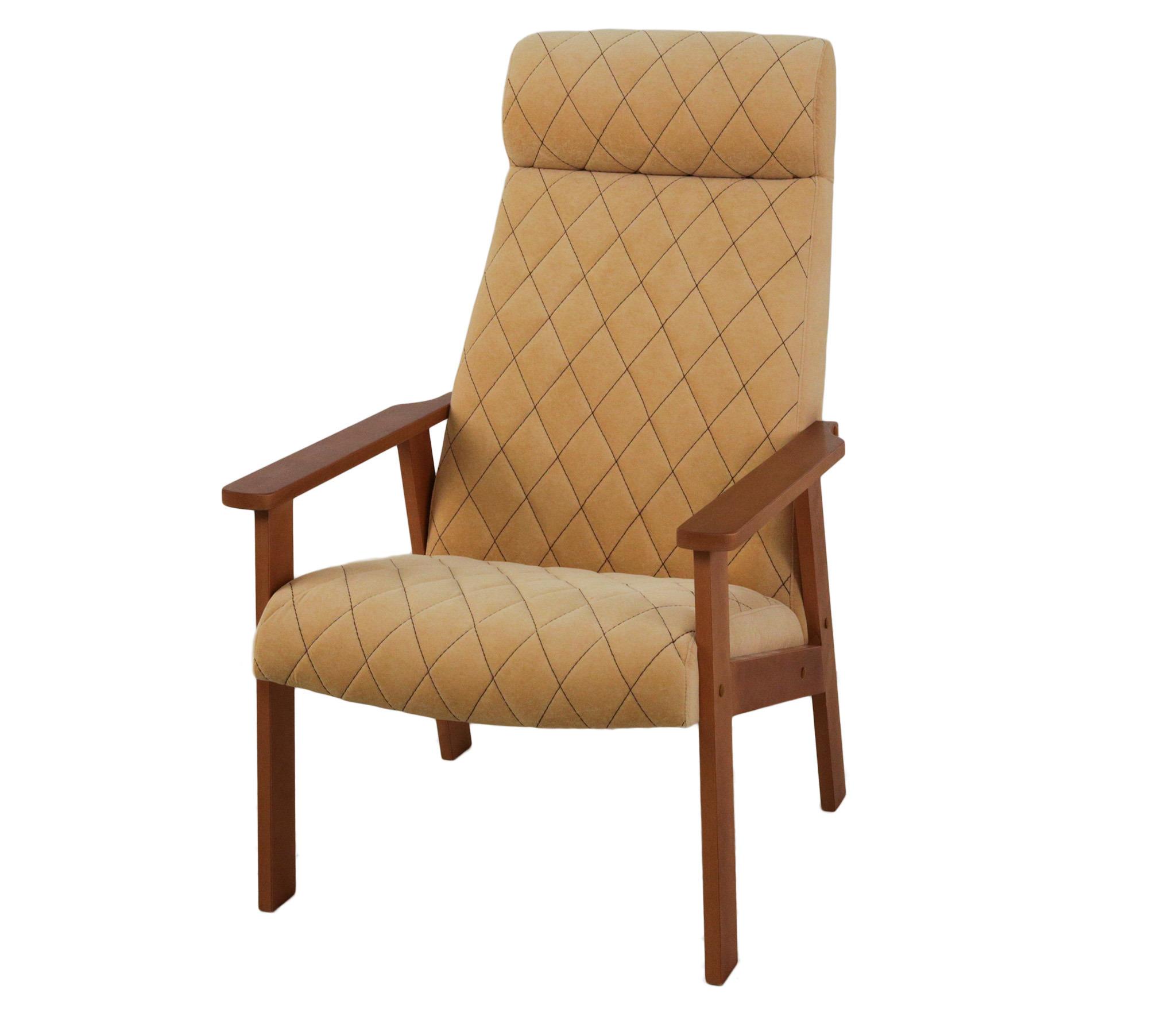 мягкие кресла Кресло для отдыха Вилора с прострочкой, Бук, Bolero silk bone