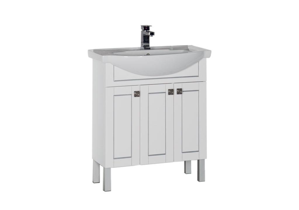Тумба Aquanet Честер 75 белыйТумбы с раковиной для ванны<br><br><br>Длина мм: 0<br>Высота мм: 0<br>Глубина мм: 0<br>Цвет: Белый Глянец