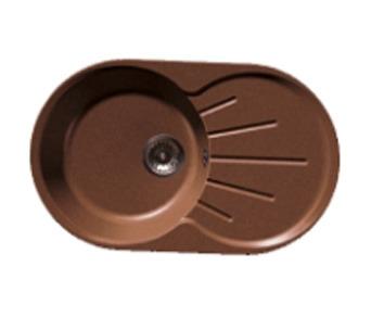 GRANFEST Мойка GF-R750L (бежевый)Мойки, сушки, смесители<br>Тип:врезная, одночашевая с крылом, оборачиваемая&#13;Материал мойки: искусственный камень&#13;Внешние размеры мойки: 750 мм x 460 мм&#13;Размеры чаши мойки: 400 мм x 400 мм&#13;Глубина чаши мойки: 200 мм&#13;Размер стандартного стола: от 45 см&#13;Отверстие под смеситель: отсутствует&#13;Страна торговой марки / страна-производитель: Россия / Россия&#13;Гарантийный срок: 2 года&#13;В комплекте:&#13;фреза Форстнера 35 мм&#13;сливная гарнитура с нержавеющим клапаном-фильтром 3,5 дюйма&#13;сифон с отводом (под стиральную или посудомоечную машину)&#13;герметик<br><br>Длина мм: 400<br>Высота мм: 400<br>Глубина мм: 200<br>Мойки: true