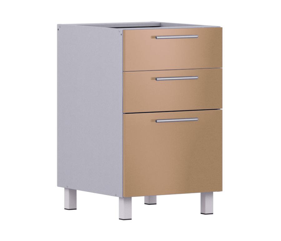 Анна АСЯ-50 Стол с ящикамиКухня<br><br><br>Длина мм: 500<br>Высота мм: 820<br>Глубина мм: 563