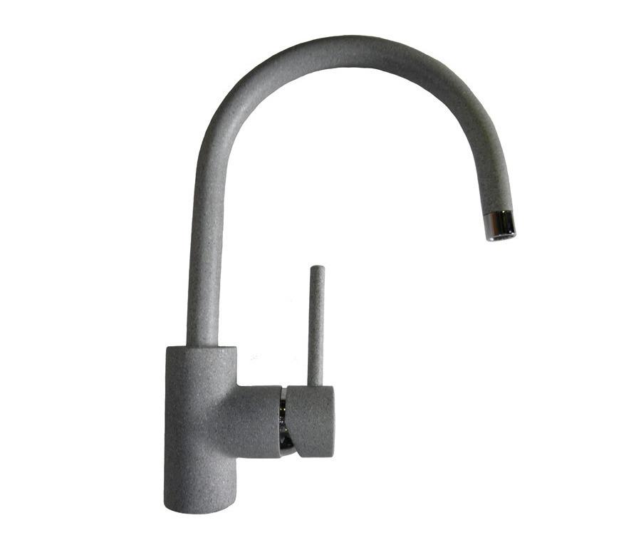 GF Смеситель 3023 (серый)Мойки, сушки, смесители<br><br><br>Длина мм: 210<br>Высота мм: 352<br>Глубина мм: 0