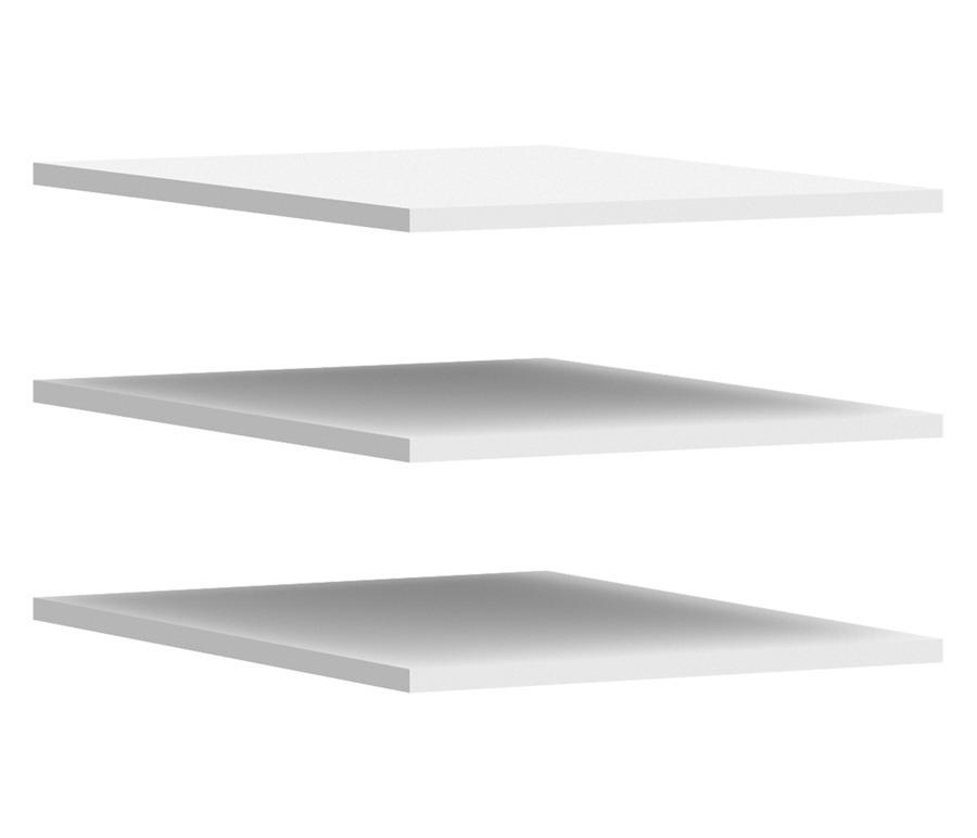 Амалия P-986 ПолкиГарнитуры<br>Полки Амалия P-986 являются полками для шкафов, входящих в комплект модульной спальни Амалия, имеют размер 414х554х16 мм.<br><br>Длина мм: 414<br>Высота мм: 16<br>Глубина мм: 554