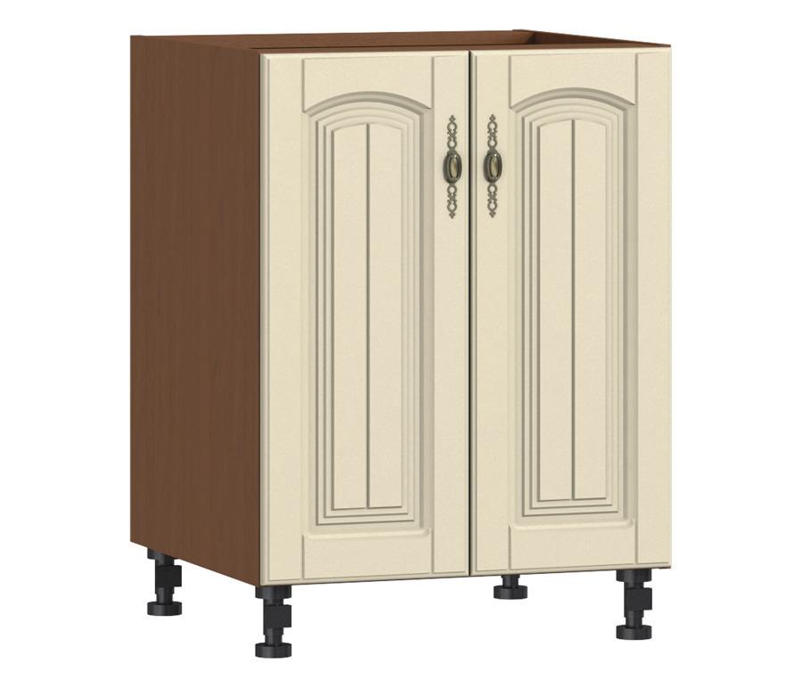 Регина РС-60 стол с 2-мя фасадамиГарнитуры<br><br><br>Длина мм: 600<br>Высота мм: 820<br>Глубина мм: 563