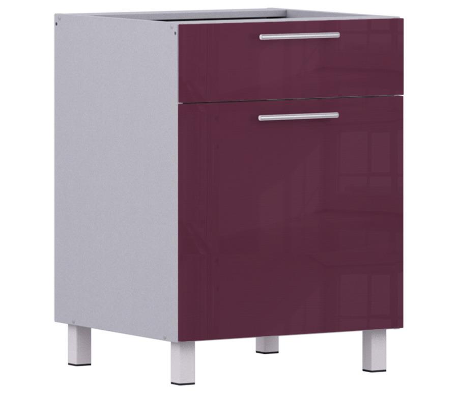 Анна АСДЯ-1-60 стол с ящиком и дверкойМебель для кухни<br>Дополнительно рекомендуем приобрести столешницу.]]&gt;<br><br>Длина мм: 600<br>Высота мм: 820<br>Глубина мм: 563