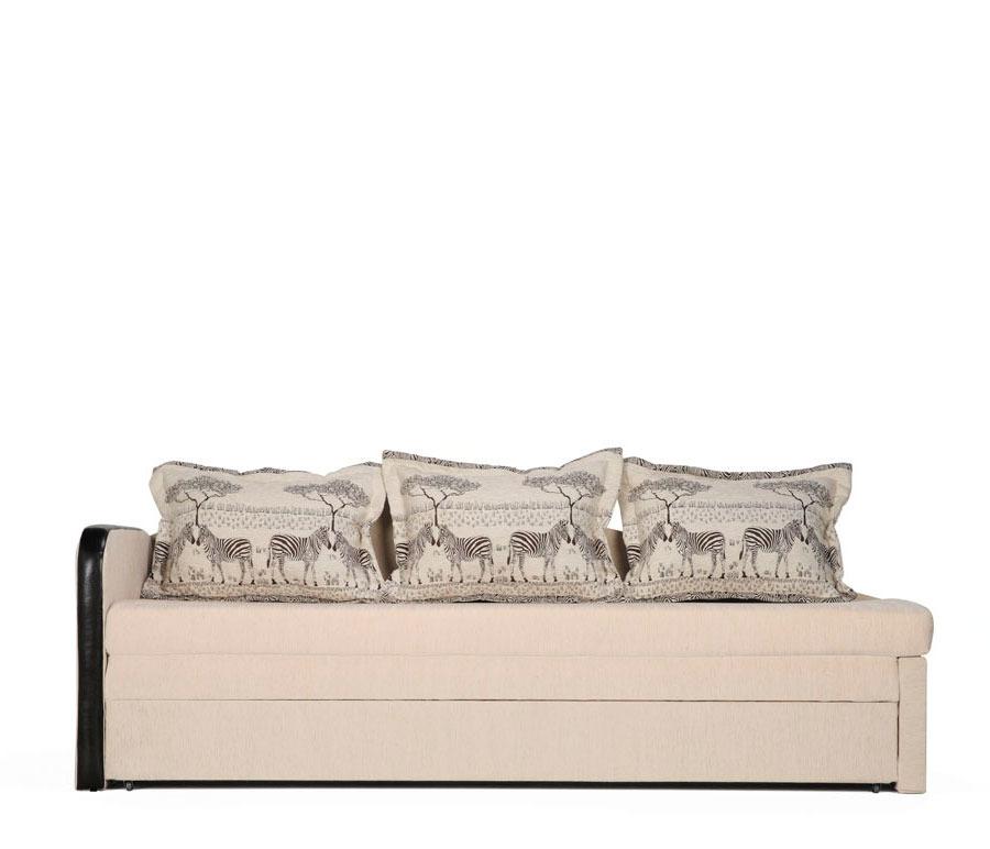 Верди диван-кровать УЛ Румбо фон 6550 com/Зебра белая/Слон Столплит