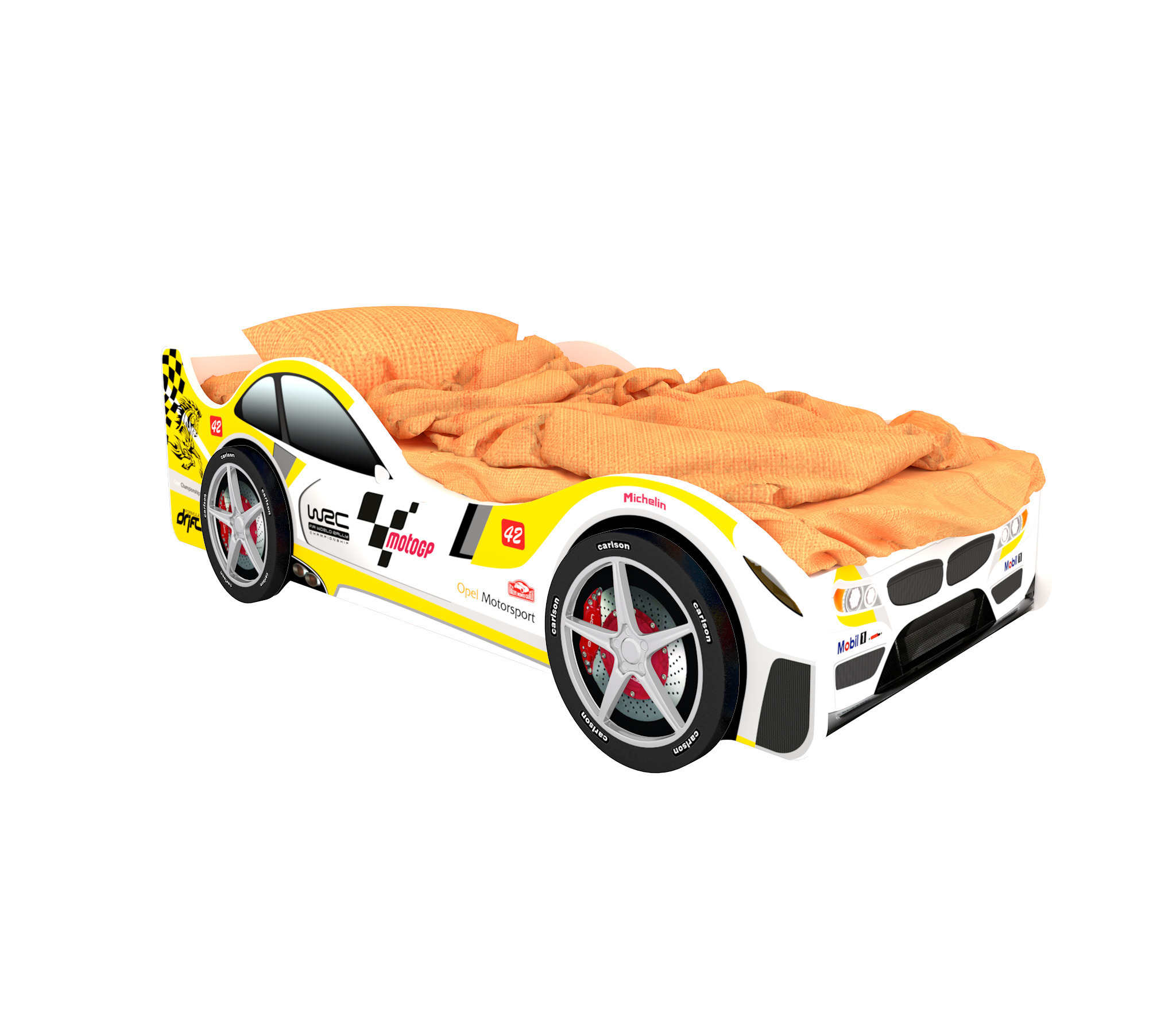 Кровать машина СочиКровати - машины<br><br><br>Длина мм: 1700<br>Высота мм: 500<br>Глубина мм: 750