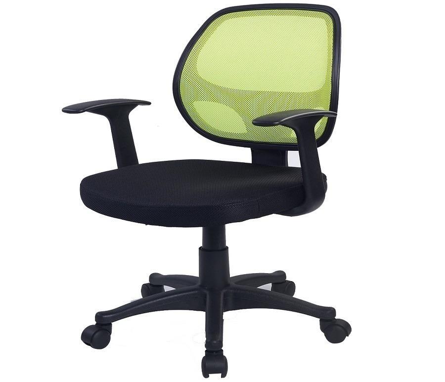 Кресло для персонала CB10060Компьютерные<br><br><br>Длина мм: 450<br>Высота мм: 0<br>Глубина мм: 480<br>Цвет: Черный/ зеленый