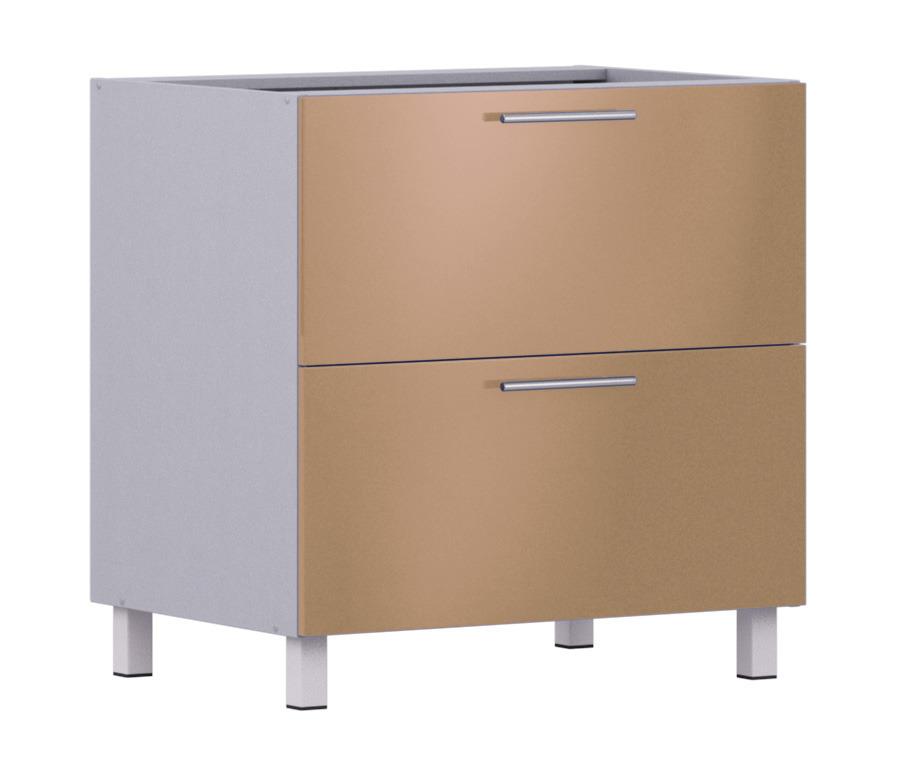 Анна АСЯ-80 стол с ящикамиКухня<br><br><br>Длина мм: 800<br>Высота мм: 820<br>Глубина мм: 563