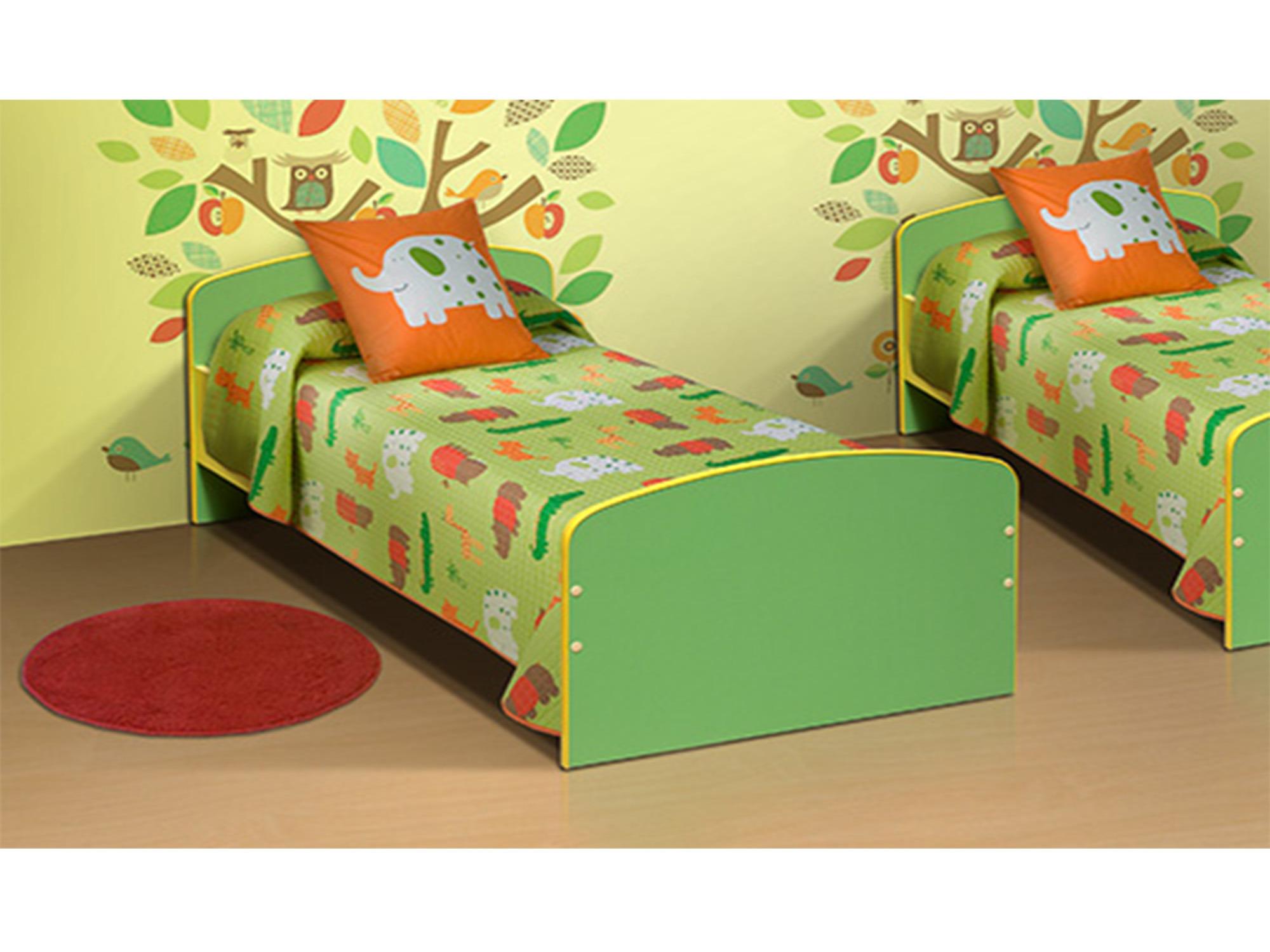Кровать одноместнаяДетские кровати<br><br><br>Длина мм: 640<br>Высота мм: 500<br>Глубина мм: 1432