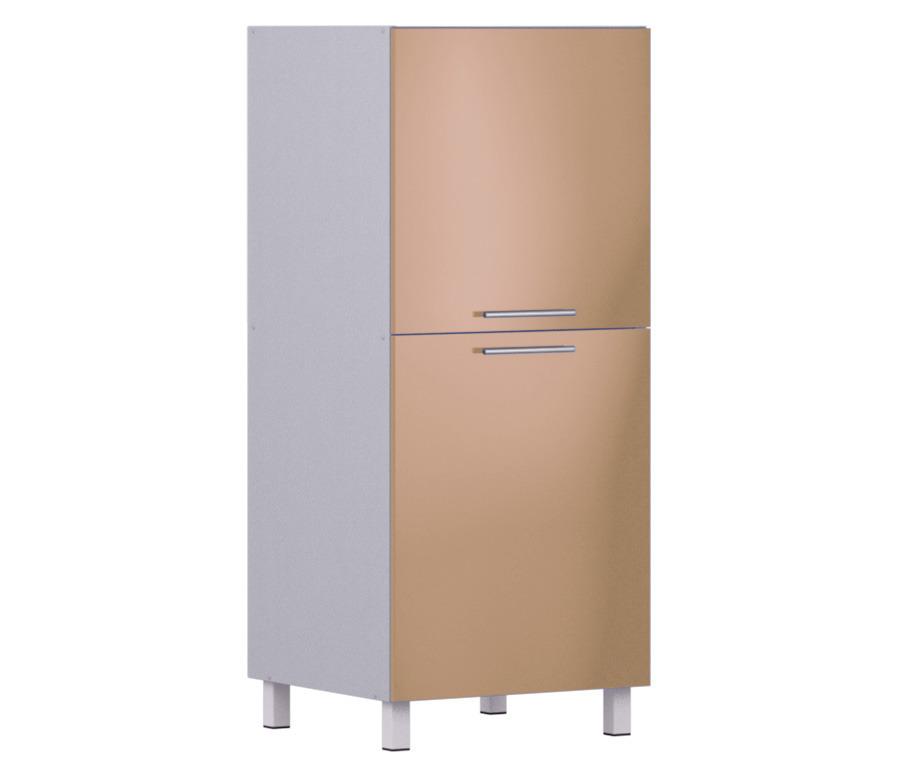 Анна АП-460 пеналМебель для кухни<br>Пенал Анна АП-460, входящий в комплект кухонного гарнитура Анна, имеет нестандартные размеры и необычный дизайн.<br><br>Длина мм: 600<br>Высота мм: 1418<br>Глубина мм: 563