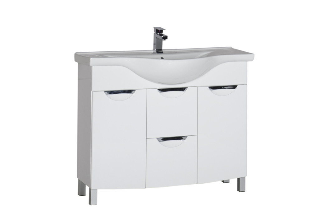 Тумба Aquanet Асти 105 б/к белыйТумбы с раковиной для ванны<br><br><br>Длина мм: 0<br>Высота мм: 0<br>Глубина мм: 0<br>Цвет: Белый Глянец