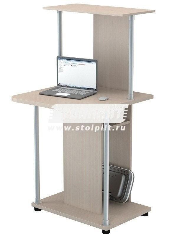 Стол компьютерный КС 2032м1Кабинет<br><br><br>Длина мм: 600<br>Высота мм: 1260<br>Глубина мм: 600