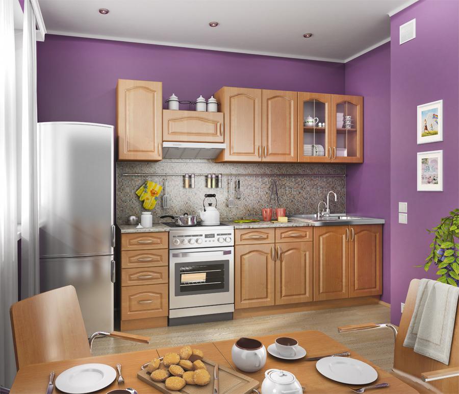 Оля Кухня Вишня/МДФ ОльхаКухонные гарнитуры<br>Кухня Оля Вишня подойдет как для малогабаритных, так и для больших помещений. Этот гарнитур состоит из нескольких частей: подвесных полок с ящиками, витрины и нескольких шкафов со столешницами. Все элементы набора вместительные, имеют продуманную внутреннюю конструкцию, предполагающую размещение множества кухонных принадлежностей. Ширина рабочих поверхностей позволяет с комфортом готовить различные блюда. Кухня Оля Столплит может быть выполнена в нескольких цветовых решениях, благодаря чему можно подобрать вариант на любой вкус.<br><br>Длина мм: 0<br>Высота мм: 0<br>Глубина мм: 0